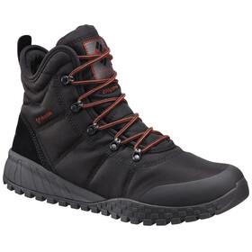 Columbia Fairbanks Omni-Heat Shoes Men, black/rusty